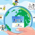 """Çomranlı İlkokulu eTwinning """"A game in each ring"""" afiş yarışması eseri"""