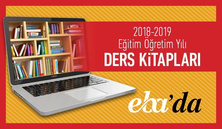 2018-2019 Eğitim Öğretim Yılı Ders Kitapları EBA'da