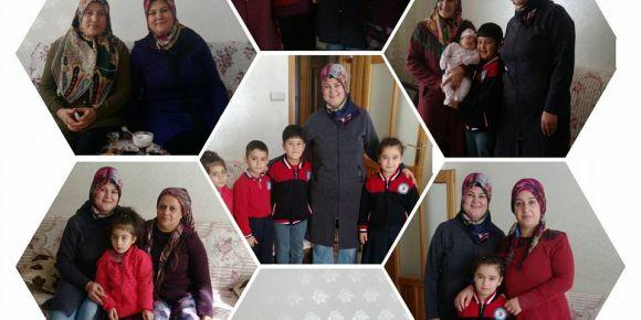 Gaziantep Şehit Adem Yavuz ilkokulu 2-B  sınıfı veli ziyaretleri