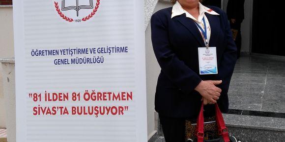 81 ilden 81 öğretmen Sivas'ta buluştu