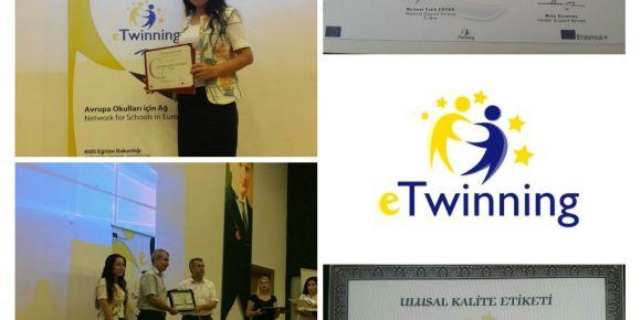 eTwinning ödül töreni