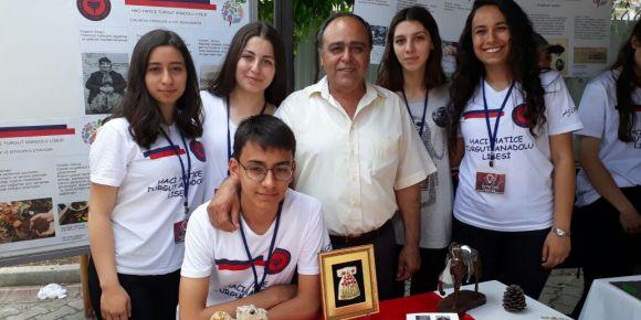 İlçe Milli Eğitim Müdürümüz Sn. Ayhan DAĞLI Tübitak 4006 Bilim fuarımızın açılışını yaptı