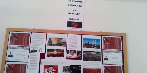 15 Temmuz Demokrasi Zaferi ve Şehitler Panosu
