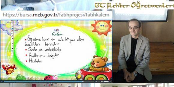 Bursa'da Fatih Projesi BT rehber öğretmenleri toplantıları devam ediyor