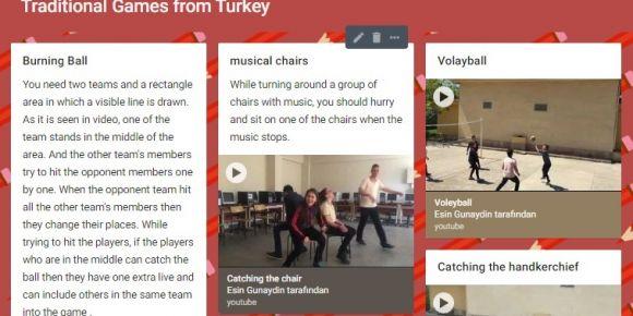 Beşikdüzü Anadolu Lisesi Geleneksel Türk Oyunlarını Avrupa'ya tanıttı