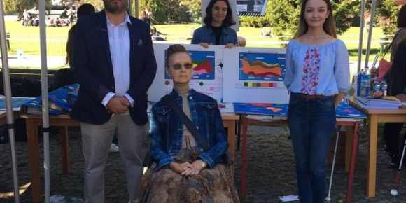 Dünyada ilk görme engelliler için dokunsal eğitim materyalleri sergisi