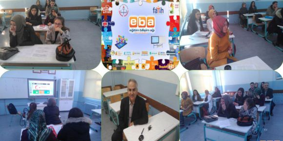 Bursa Yıldırım Anadolu İmam Hatip Ortaokulu' da EBA tanıtım semineri yapıldı