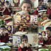 1/A sınıfı öğrencilerinden dengeli beslenme etkinliği