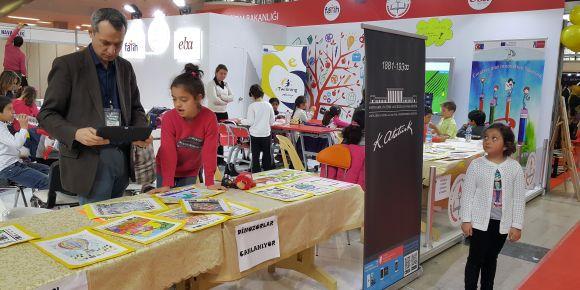 Ankara 1.Eğitim ve Eğitim Teknolojileri Fuarında FATİH Projesi tanıtıldı