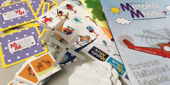 Ovaazatlı İlkokulu okul öncesi dergimiz isimli e twining projesi