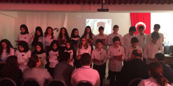 Başiskele Anadolu Lisesi 10 Kasım Atatürk'ün Anma Etkinlikleri