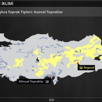 Türkiye'nin İklimi - Türkiye'de Başlıca Toprak Tipleri