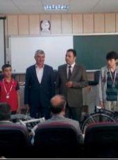 """Yozgat Yerköy Saray Yibitaş Lafarge Ortaokulu """"Bana AB´yi Anlat"""" Adlı Yarışmada Ödül Sevincimiz"""