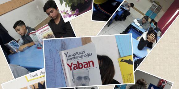 8H sınıfı Türk edebiyatının unutulmaz yazarlarıyla tanıştı