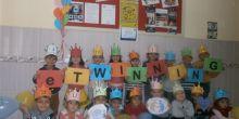 Konya Karapınar Sazlıpınar İlkokulunda anasınıfı öğrencileri İngilizce öğreniyor