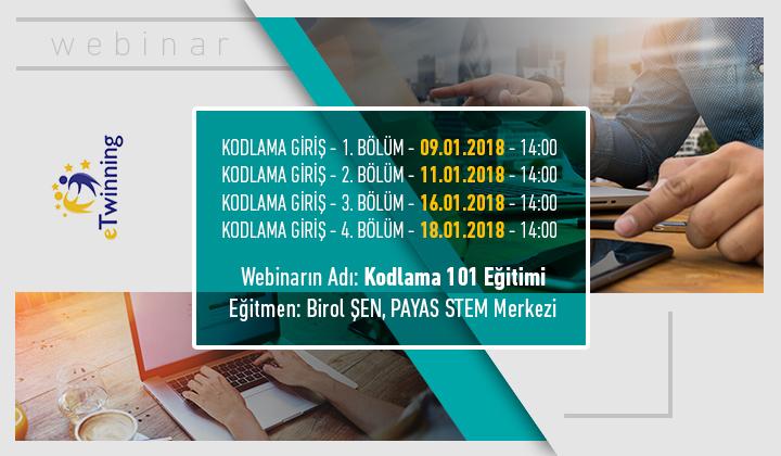 Kodlama 101 Webinar