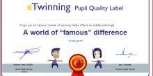 Recep Birsin Özen Ortaokulu etwinning kalite etiketi ödülü