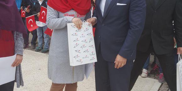 """""""15 Temmuz Demokrasi Şehitleri"""" konulu şiir yarışmasında 1. olduk"""
