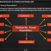 Türkiye'deki Enerji Kaynakları - 1