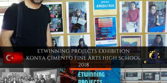 Okulumuzda Etwinning projeleri sergisi gerçekleşti