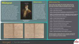 Divan edebiyatı nesir türlerinden biri olan münşeat ile ilgili hazırlanan doküman