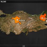 Türkiye'nin İklimi - Türkiye'de İklim Elemanları - Sıcaklık