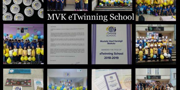 eTwinning School Etiketimizi aldık