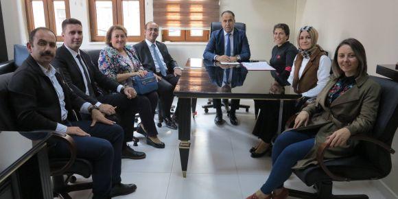Bosna Hersek okulları ile Kardeş Okul projesi Biga'da hayata geçiriliyor