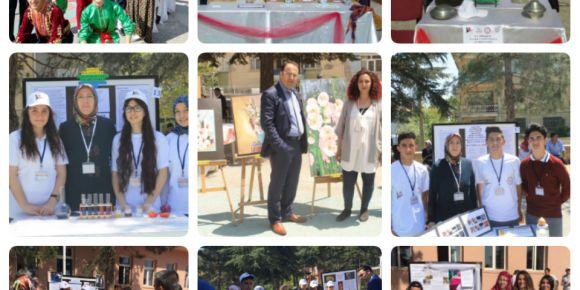 Akşehir Seyyit Mahmut Hayrani Anadolu Lisesinde Tübitak bilim fuarı
