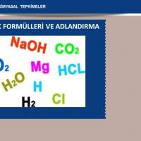 Bileşik Formülleri ve Adlandırma