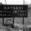 Kayseri Giriş Levhası, 1971