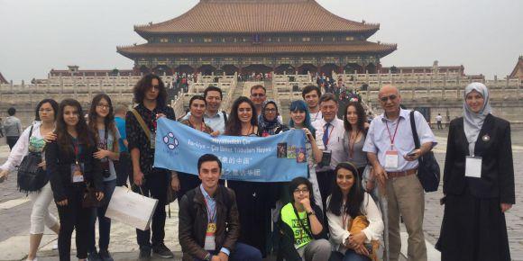 Türkiye Çin umut yıldızları ekibi