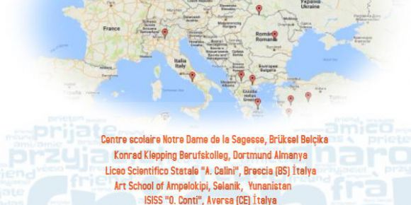 "Alaşehir Kavaklıdere ÇPAL ""European Friends 2016 2017"" E-twinning projesine başladı."