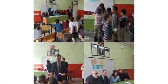Öğrenciler yazarla buluştu