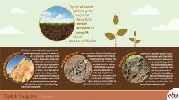 Toprak oluşumunun nasıl olduğu anlatılmıştır.