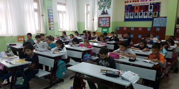 Kardeş sınıfa mektup yazma etkinliği