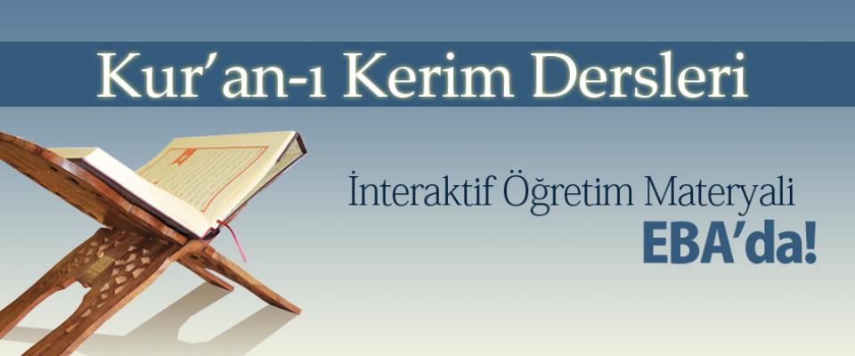 Kur an-ı Kerim İnteraktif Öğretim Materyali