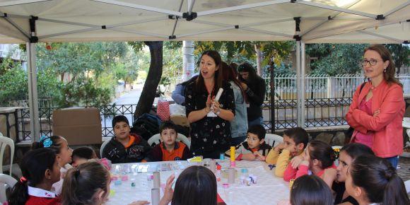 Karşıyaka 4007 TÜBİTAK ailemle bilime yolculuk