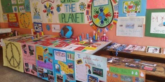 eTwinning 'Save The Planet' proje sergimizi yaptık.