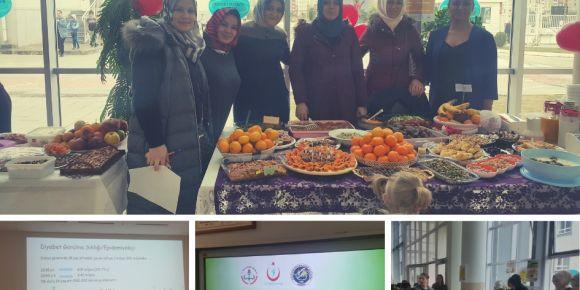 14 Kasım Diyabet Günü etkinliklerimiz