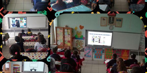 Şükrü Şankaya İlkokulu Güvenli Internet kullanımı ile tanıştı