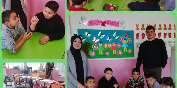 Özel eğitim sınıfımız Nevruz Bayramını kutladı
