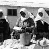 Köyde çamaşır yıkama