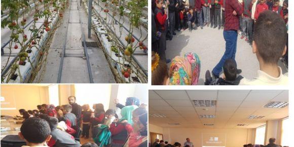 Karatay Şehit Üsteğmen Mehmet Düzenli İmam Hatip Ortaokulu katı atık tesislerine gitti.