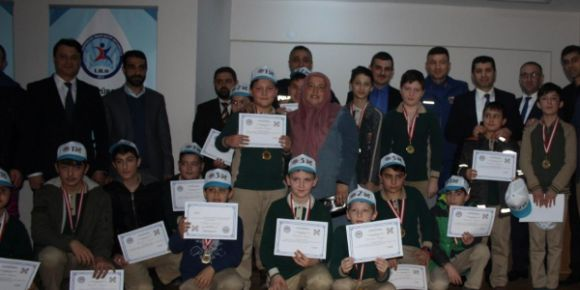 Cahit Arf matematik olimpiyatı ödül törenimizi gerçekleştirdik