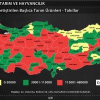 Türkiye'de Tarım ve Hayvancılık - Tarım