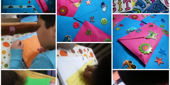 Yunus Emre İlkokulu Mektup Yazıyor
