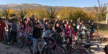 Sağlık yaşam ve dengeli beslenme için bisiklet gezisi düzenledik