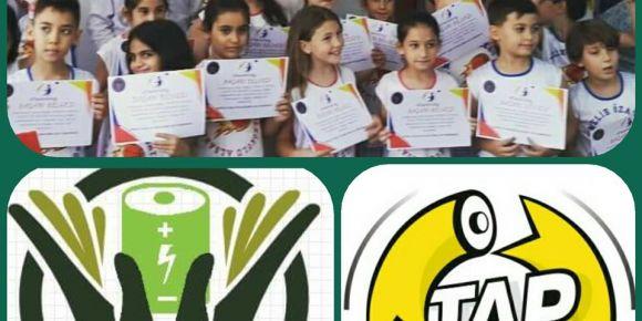 Doğaya Dokun Projesi kapsamında başarı belgeleri verildi