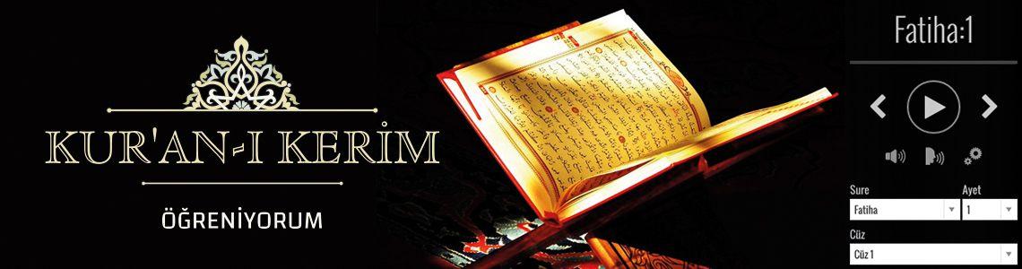 Kuran-ı Kerim Öğreniyorum